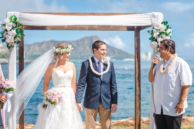 Hawaii Arch-and-Runway-Wedding-Setup