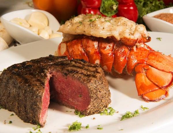 The Signature Honolulu Steak and Lobster