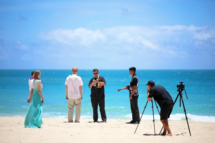 Hawaii Wedding Videography 60 (Custom)