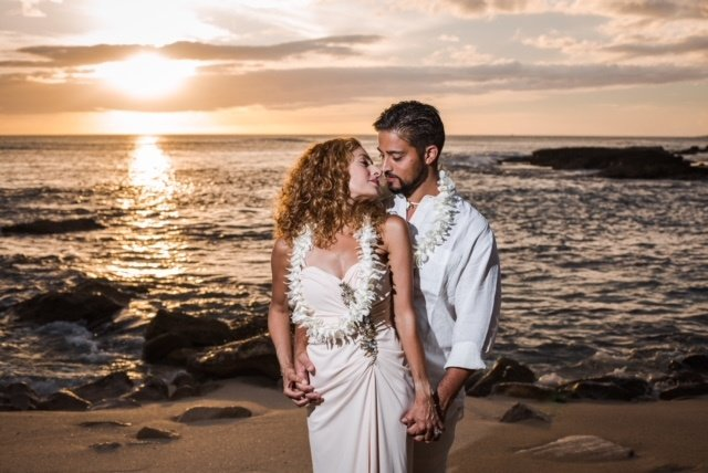 Hawaii wedding Leis 0617