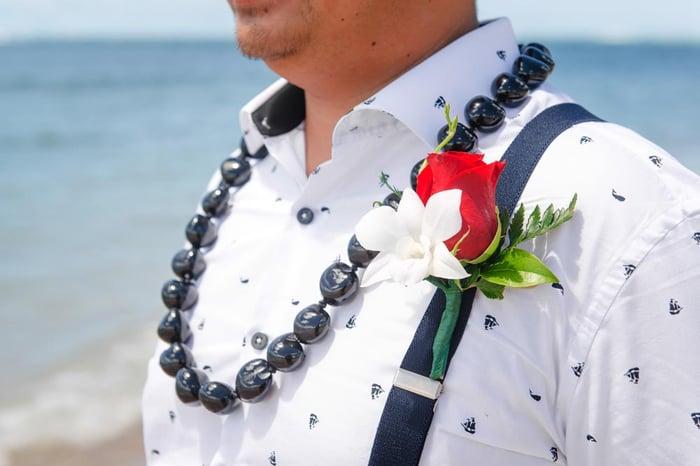 Hawaii-Boutonniere