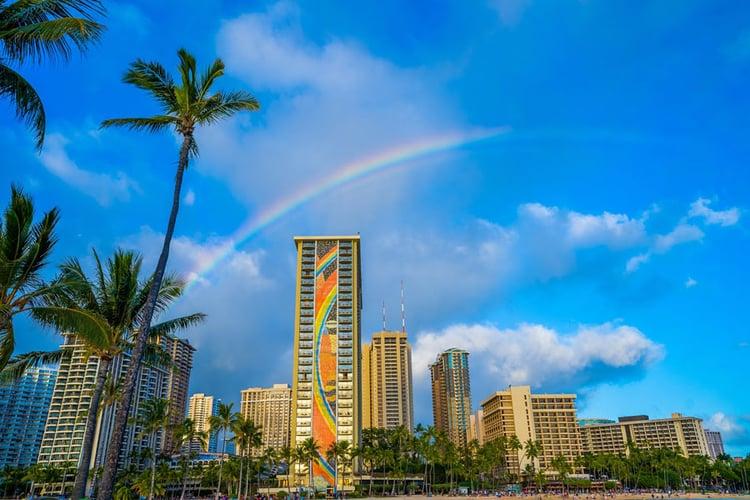 Hilton-Hawaiian-with-a-Rainbow