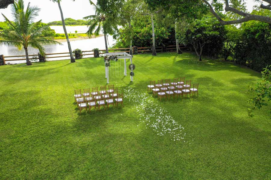 Koko Kai Garden Hawaii Wedding Location 14