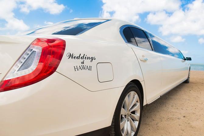 Weddings of Hawaii Limousine