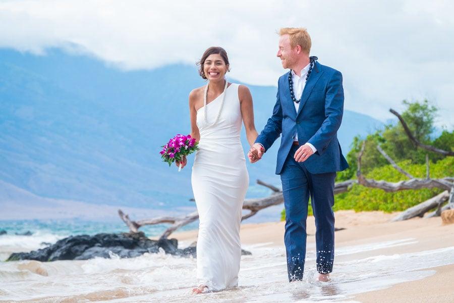 Maui Wedding at Mokapu Beach 1-1