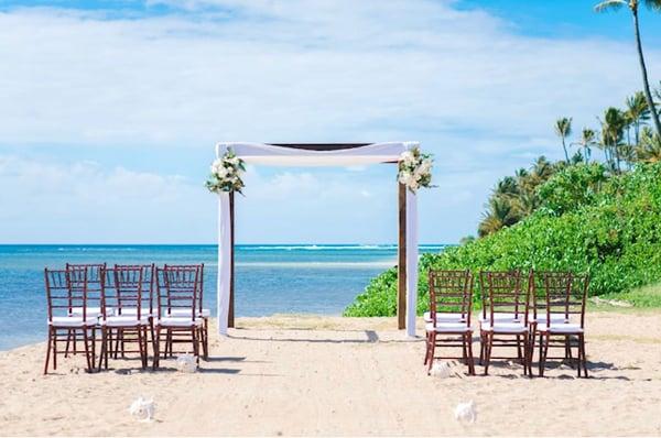 Naau Hawaii Wedding Setup 0109