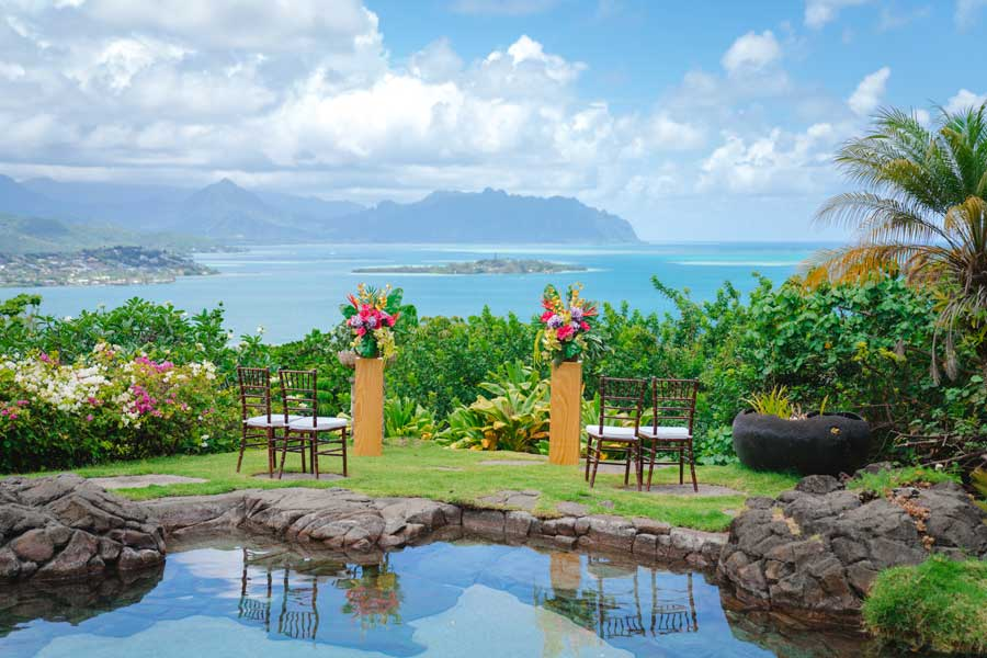 Noelani Gardens Hawaii Wedding Location 020