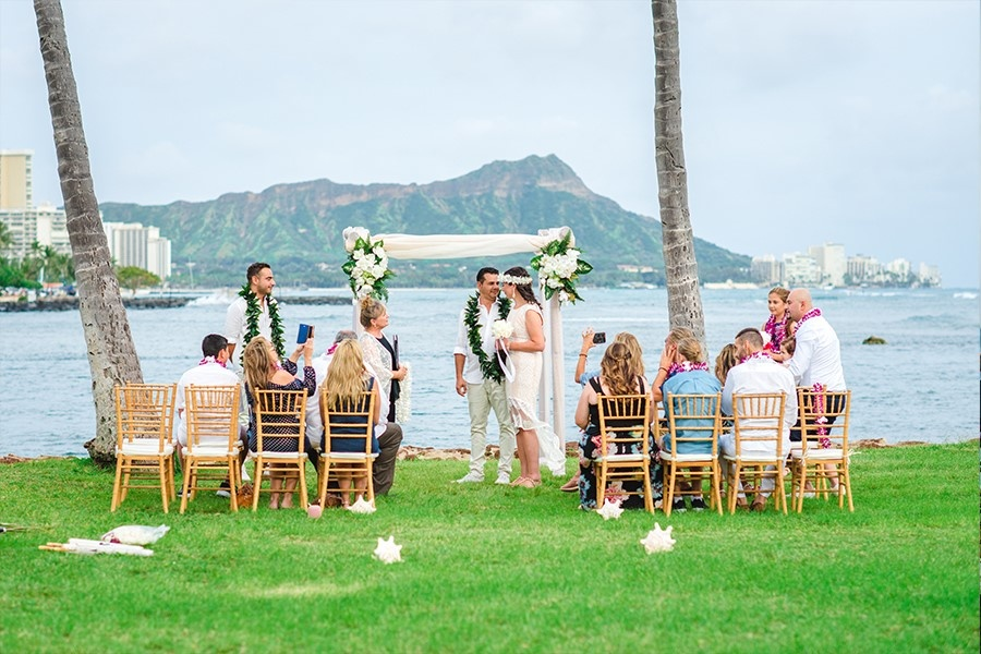Magic Island Hawaii Wedding 2318 (Custom)