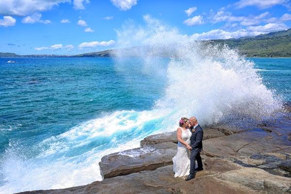Hawaii wedding at Heaven's Point