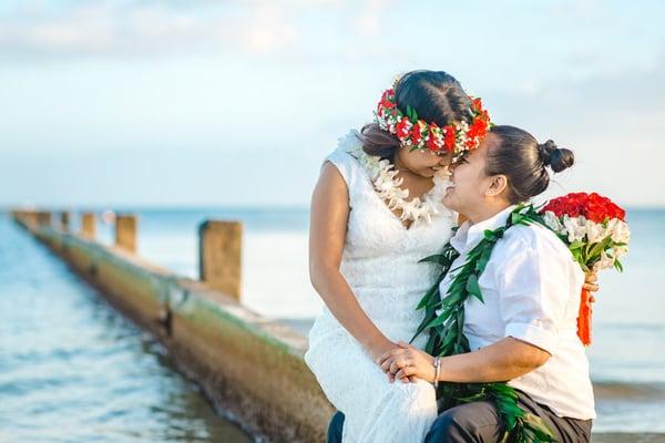 Waialae-Beach-Hawaii-Same-sex-Wedding