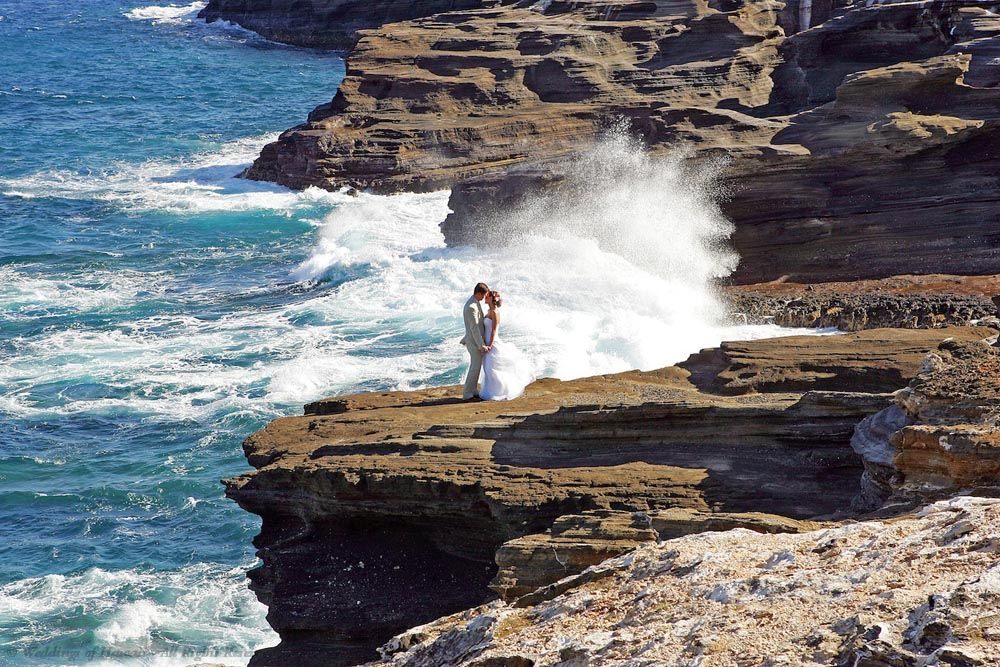 Videography service at a wedding on Oahu