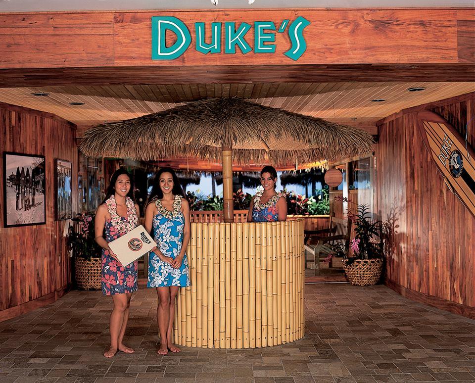 Duke's Waikiki Entrance