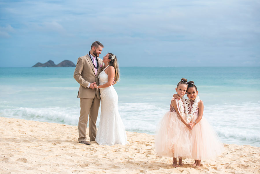 Hawaii-Wedding-Groom-Formal-Attire-Tan-Suit-1