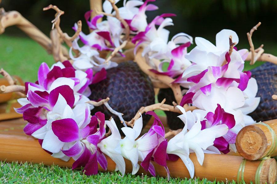 Hawaiian Leis Gallery - Weddings of Hawaii - Hawaii Weddings at Their Best!